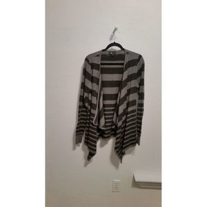 AB Studio open front sweater size xl